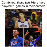 """The two biggest @zo haters and future NBA """"superstars"""" have played almost fewer games than Lonzo Ball, who has only played in summer league!👀😂💀 _____________________________________________________ Lakers Lalakers TeamLakers LonzoBall JordanClarkson JuliusRandle BrandonIngram TheFuture LakersNews LakersGame Kobe KobeBryant BlackMamba Mamba lebronjames Basketball NBA Laker4Life LakersAllDay michaeljordan GOAT LakerNation GoLakers legend @1ngram4 @jordanclarksons @zo @juliusrandle30 @ivicazubac @larrydn7 @kobebryant shaq drake spikelee NBA nbaallstar @mettaworldpeace37: Combined, these two 76ers have  played 31 games in their careers  TAKERS  HILADE PHIA  BASKETBALL  PHILA The two biggest @zo haters and future NBA """"superstars"""" have played almost fewer games than Lonzo Ball, who has only played in summer league!👀😂💀 _____________________________________________________ Lakers Lalakers TeamLakers LonzoBall JordanClarkson JuliusRandle BrandonIngram TheFuture LakersNews LakersGame Kobe KobeBryant BlackMamba Mamba lebronjames Basketball NBA Laker4Life LakersAllDay michaeljordan GOAT LakerNation GoLakers legend @1ngram4 @jordanclarksons @zo @juliusrandle30 @ivicazubac @larrydn7 @kobebryant shaq drake spikelee NBA nbaallstar @mettaworldpeace37"""