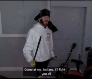 Fight, River, and Indians: Come at me, Indians. I'll fight  you all Alexander at the battle of Hydapses River (c.326, colorized)