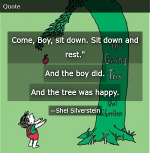 Shel Silverstein-The Giving Tree