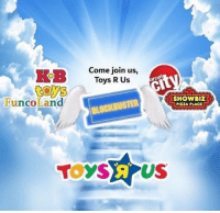 "Blockbuster, Dank, and Meme: Come join us,  Toys R Us  Funco Land  SHOWBIZ  PIZZA PLACE  BLOCKBUSTER  TOYSA US <p>F via /r/dank_meme <a href=""http://ift.tt/2FE01HC"">http://ift.tt/2FE01HC</a></p>"