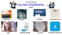 """Memes, Sorry, and Tumblr: come on down to  EATING DISORDERS  we got  mpa  Forums  Members  rumbly bois  the bible  validation  problematic faves  alli  3  2007  butthole periods  the void  a licensed nutritionist <p><a href=""""https://skinnytransboys.tumblr.com/post/164611345098/im-sorry-for-all-the-memes-but-theyre-just-so"""" class=""""tumblr_blog"""">skinnytransboys</a>:</p><blockquote><p>im sorry for all the memes but they're just so good</p></blockquote> <p>-h</p>"""