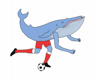 come on whales. love from your friend Chris (Simpsons artist) xox