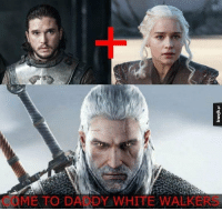 Geralt is the son of Jon and Dany 😂 https://t.co/Zsd2OG34Gv: COME TO DADDY WHITE WALKERS Geralt is the son of Jon and Dany 😂 https://t.co/Zsd2OG34Gv