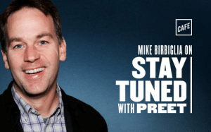 Comedian Mike Birbiglia @birbigs has some uplifting, heartwarming, and honest stories to share on this week's episode of Stay Tuned with @PreetBharara. There's some joking too. Try a little coronavirus counterprogramming and listen at https://t.co/nBeIdTHDJE https://t.co/lChBaDhZcc: Comedian Mike Birbiglia @birbigs has some uplifting, heartwarming, and honest stories to share on this week's episode of Stay Tuned with @PreetBharara. There's some joking too. Try a little coronavirus counterprogramming and listen at https://t.co/nBeIdTHDJE https://t.co/lChBaDhZcc