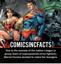 Are you more excited for the Justice League movie or the Avengers Infinity movie?! Please Turn On Your Post Notifications For My Account😜👍! - - - - - - - - - - - - - - - - - - - - - - - - Batman Superman DCEU DCComics DeadPool DCUniverse Marvel Flash MarvelComics MCU MarvelUniverse Netflix DeathStroke JusticeLeague StarWars Spiderman Ironman Batman Logan TheJoker Like4Like L4L WonderWoman DoctorStrange Flash JusticeLeague WonderWoman Hulk Disney CW DarthVader Tonystark Wolverine: COMIC SINCFACTS  Due to the success of the Justice League (a  group team of superpowered crime fighters),  Marvel Comics decided to make the Avengers. Are you more excited for the Justice League movie or the Avengers Infinity movie?! Please Turn On Your Post Notifications For My Account😜👍! - - - - - - - - - - - - - - - - - - - - - - - - Batman Superman DCEU DCComics DeadPool DCUniverse Marvel Flash MarvelComics MCU MarvelUniverse Netflix DeathStroke JusticeLeague StarWars Spiderman Ironman Batman Logan TheJoker Like4Like L4L WonderWoman DoctorStrange Flash JusticeLeague WonderWoman Hulk Disney CW DarthVader Tonystark Wolverine