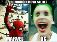 Awesome! ComicBookMemes: COMICBOOKMOVIESELFIES  DC  MARVEL Awesome! ComicBookMemes