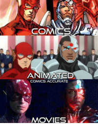 Memes, 🤖, and Geek: COMICS  ANIMATED  R COMICS ACCURATE  MOVIES (Cassius) Geek Lives Matter