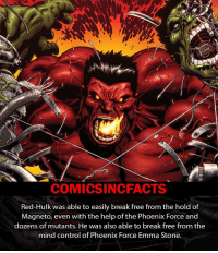 Memes, Emma Stone, and Phoenix: COMICSIN CFACTS  Red-Hulk was able to easily break free from the hold of  Magneto, even with the help of the Phoenix Force and  dozens of mutants. He was also able to break free from the  mind control of Phoenix Force Emma Stone. Emma Frost Not Emma Stone😂!! Please Turn On Your Post Notifications For My Account😜👍! - - - - - - - - - - - - - - - - - - - - - - - - Batman Superman DCEU DCComics DeadPool DCUniverse Marvel Flash MarvelComics MCU MarvelUniverse Cosplay DeathStroke JusticeLeague StarWars Spiderman Ironman Batman Logan TheJoker Like4Like L4L WonderWoman DoctorStrange Flash JusticeLeague WonderWoman Hulk Disney CW DarthVader Tonystark deadpool