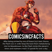Wally or Barry?! Please Turn On Your Post Notifications For My Account😜👍! - - - - - - - - - - - - - - - - - - - - - - - - Batman Superman DCEU DCComics DeadPool DCUniverse Marvel Flash MarvelComics MCU MarvelUniverse Netflix DeathStroke JusticeLeague StarWars Spiderman Ironman Batman Logan TheJoker Like4Like L4L WonderWoman DoctorStrange Flash JusticeLeague WonderWoman Hulk Disney CW DarthVader Tonystark Wolverine logan: COMICSINCFACTS  After being pricked by one of Poison Ivy's toxic thorns,  the Flash runs in order keep the toxin from metabolizing  into his bloodstream. So the Flash circles the planet 6  times and maintains mach 10 speeds for over a day. Wally or Barry?! Please Turn On Your Post Notifications For My Account😜👍! - - - - - - - - - - - - - - - - - - - - - - - - Batman Superman DCEU DCComics DeadPool DCUniverse Marvel Flash MarvelComics MCU MarvelUniverse Netflix DeathStroke JusticeLeague StarWars Spiderman Ironman Batman Logan TheJoker Like4Like L4L WonderWoman DoctorStrange Flash JusticeLeague WonderWoman Hulk Disney CW DarthVader Tonystark Wolverine logan