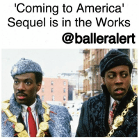 'Coming to America' Sequel is in the Works-blogged by @thereal__bee ⠀⠀⠀⠀⠀⠀⠀⠀⠀ ⠀⠀⠀⠀⠀⠀⠀⠀⠀ According to reports, a ComingtoAmerica sequel is said to finally be in the works now that Paramount has taken some steps toward production. ⠀⠀⠀⠀⠀⠀⠀⠀⠀ ⠀⠀⠀⠀⠀⠀⠀⠀⠀ The studio has hired Barry Blaustein and David Sheffield, the original writers of the 1988 film, to write the potential sequel. ⠀⠀⠀⠀⠀⠀⠀⠀⠀ ⠀⠀⠀⠀⠀⠀⠀⠀⠀ While the project is still in the early stages of the development process, Kevin Misher who worked on films like Carrie and PublicEnemies, is expected to produce. ⠀⠀⠀⠀⠀⠀⠀⠀⠀ ⠀⠀⠀⠀⠀⠀⠀⠀⠀ There is no word yet on whether EddieMurphy will return for his iconic role. ⠀⠀⠀⠀⠀⠀⠀⠀⠀ ⠀⠀⠀⠀⠀⠀⠀⠀⠀ In the original, Murphy played Prince Akeem, who left his wealthy African country to move to Queens, NewYork, in hopes of escaping an arranged marriage and finding a wife who will love him despite that he's a prince.: Coming to America'  Sequel is in the Works  @balleralert 'Coming to America' Sequel is in the Works-blogged by @thereal__bee ⠀⠀⠀⠀⠀⠀⠀⠀⠀ ⠀⠀⠀⠀⠀⠀⠀⠀⠀ According to reports, a ComingtoAmerica sequel is said to finally be in the works now that Paramount has taken some steps toward production. ⠀⠀⠀⠀⠀⠀⠀⠀⠀ ⠀⠀⠀⠀⠀⠀⠀⠀⠀ The studio has hired Barry Blaustein and David Sheffield, the original writers of the 1988 film, to write the potential sequel. ⠀⠀⠀⠀⠀⠀⠀⠀⠀ ⠀⠀⠀⠀⠀⠀⠀⠀⠀ While the project is still in the early stages of the development process, Kevin Misher who worked on films like Carrie and PublicEnemies, is expected to produce. ⠀⠀⠀⠀⠀⠀⠀⠀⠀ ⠀⠀⠀⠀⠀⠀⠀⠀⠀ There is no word yet on whether EddieMurphy will return for his iconic role. ⠀⠀⠀⠀⠀⠀⠀⠀⠀ ⠀⠀⠀⠀⠀⠀⠀⠀⠀ In the original, Murphy played Prince Akeem, who left his wealthy African country to move to Queens, NewYork, in hopes of escaping an arranged marriage and finding a wife who will love him despite that he's a prince.