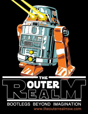Bootleg, Star Wars, and Tumblr: COMMAND  THE  O OUTER  EA LM  BOOTLEGS BEYOND IMAGINATION  www.theouterrealmsw.com fundraisingwebsites:  The Outer Realm: Bootleg Star Wars Collectable Toy Book   This book will showcase not only tons of pictures of amazing unlicensed Vintage Star Wars toys, but the story behind why they were made