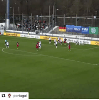 A candidate for the FIFA Puskás Award? 🚀⚽👏 Repost @portugal with @repostapp ・・・ Inspiração! O golo de Bruno Fernandes com que Portugal quebrou o record de 32 vitórias consecutivas da Alemanha nos jogos em casa! Alemanha 🇩🇪 0-1 🇵🇹Portugal. 💚💛❤️ What a goal by our under 21 Captain Bruno Fernandes in Stuttgart. After 32 straight wins, Germany finally looses a home game. TeamPortugal: COMMERIBANKO  Die Bank an Ihrer Seite COMM 2BAtlK4  portugal  EPA FIFA  Bank aytt er Seite  CO A candidate for the FIFA Puskás Award? 🚀⚽👏 Repost @portugal with @repostapp ・・・ Inspiração! O golo de Bruno Fernandes com que Portugal quebrou o record de 32 vitórias consecutivas da Alemanha nos jogos em casa! Alemanha 🇩🇪 0-1 🇵🇹Portugal. 💚💛❤️ What a goal by our under 21 Captain Bruno Fernandes in Stuttgart. After 32 straight wins, Germany finally looses a home game. TeamPortugal