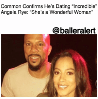 "Common Confirms He's Dating ""Incredible"" Angela Rye: ""She's a Wonderful Woman"" - blogged by @MsJennyb ⠀⠀⠀⠀⠀⠀⠀ ⠀⠀⠀⠀⠀⠀⠀ After months of rumors and speculations, Chicago MC Common has finally confirmed his relationship with political commentator and activist, Angela Rye. ⠀⠀⠀⠀⠀⠀⠀ ⠀⠀⠀⠀⠀⠀⠀ The rapper recently shared the news with SiriusXM's Bevy Smith, saying ""Yes, there's definitely a connection with Angela Rye. She's a wonderful woman. And you know, I'll just say I'm dating. I'm happy right now. She's an incredible human being."" ⠀⠀⠀⠀⠀⠀⠀ ⠀⠀⠀⠀⠀⠀⠀ ""That's the good thing about Angela, too, she's just a fun person,"" he continued. ""She obviously is about the mission and about the people…Just because you're conscious and aware don't mean you got to not have fun. You're still going to kick it, 'cause that's part of me too."" ⠀⠀⠀⠀⠀⠀⠀ ⠀⠀⠀⠀⠀⠀⠀ Despite Common's recent confirmation, the two have been gushing over each other for months. After arriving to the Emmy's together, Rye took to Instagram to congratulate the musician for his Creative Arts Emmy for the song, ""Letter to the Free."" ⠀⠀⠀⠀⠀⠀⠀ ⠀⠀⠀⠀⠀⠀⠀ ""Super proud of this guy for having a big EGO, which is not to be confused with a big ego. Here he is giving thanks to the Almighty for his Emmy just like he does for taking every breath, every single day. I'm thankful for his tremendous example of humility, leadership, kindness, and creativity. May we all be inspired to WORKwoke."" ballerificcouples: Common Confirms He's Dating ""Incredible""  Angela Rye: ""She's a Wonderful Woman""  @balleralert Common Confirms He's Dating ""Incredible"" Angela Rye: ""She's a Wonderful Woman"" - blogged by @MsJennyb ⠀⠀⠀⠀⠀⠀⠀ ⠀⠀⠀⠀⠀⠀⠀ After months of rumors and speculations, Chicago MC Common has finally confirmed his relationship with political commentator and activist, Angela Rye. ⠀⠀⠀⠀⠀⠀⠀ ⠀⠀⠀⠀⠀⠀⠀ The rapper recently shared the news with SiriusXM's Bevy Smith, saying ""Yes, there's definitely a connection with Angela Rye. She's a wonderful woman. And you know, I'll just say I'm dating. I'm happy right now. She's an incredible human being."" ⠀⠀⠀⠀⠀⠀⠀ ⠀⠀⠀⠀⠀⠀⠀ ""That's the good thing about Angela, too, she's just a fun person,"" he continued. ""She obviously is about the mission and about the people…Just because you're conscious and aware don't mean you got to not have fun. You're still going to kick it, 'cause that's part of me too."" ⠀⠀⠀⠀⠀⠀⠀ ⠀⠀⠀⠀⠀⠀⠀ Despite Common's recent confirmation, the two have been gushing over each other for months. After arriving to the Emmy's together, Rye took to Instagram to congratulate the musician for his Creative Arts Emmy for the song, ""Letter to the Free."" ⠀⠀⠀⠀⠀⠀⠀ ⠀⠀⠀⠀⠀⠀⠀ ""Super proud of this guy for having a big EGO, which is not to be confused with a big ego. Here he is giving thanks to the Almighty for his Emmy just like he does for taking every breath, every single day. I'm thankful for his tremendous example of humility, leadership, kindness, and creativity. May we all be inspired to WORKwoke."" ballerificcouples"