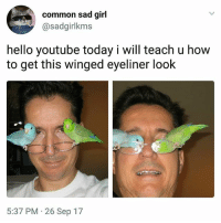 Whoms pops is this. Awesome daily highlights at @handpickedhighlights: common sad girl  @sadgirlkms  hello youtube today i will teach u how  to get this winged eyeliner look  5:37 PM 26 Sep 17 Whoms pops is this. Awesome daily highlights at @handpickedhighlights