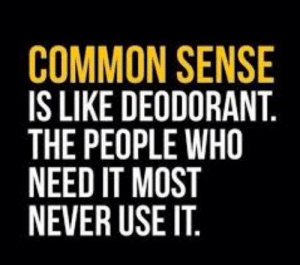 Common sense meme dump: COMMON SENSE  IS LIKE DEODORANT.  THE PEOPLE WHO  NEED IT MOST  NEVER USE IT. Common sense meme dump