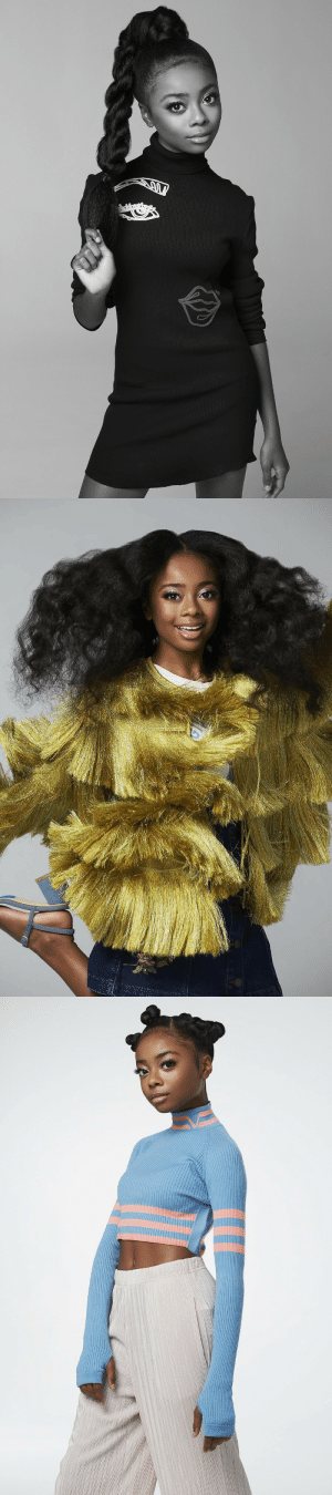 commongayboy:  aaliyah-appollonia:  thepowerofblackwomen:  Skai Jackson for PAPER Magazine 2016  She ain't come to play   when you end a rappers career at 14 and continue to slay everyone: commongayboy:  aaliyah-appollonia:  thepowerofblackwomen:  Skai Jackson for PAPER Magazine 2016  She ain't come to play   when you end a rappers career at 14 and continue to slay everyone