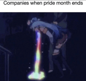 Dank, Memes, and Target: Companies when pride month ends I hope this hasn't been done before by isaactanyien1234 MORE MEMES
