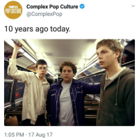 Complex, Memes, and Pop: Complex Pop Culture  @ComplexPop  COMPLEX  POPCUITURE  10 years ago today  1:05 PM 17 Aug 17 My favourite movie with Lena Dunham | Follow @aranjevi for more!