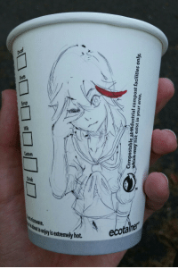 anime:one of these days i'm gonna get fired for drawing on cups at work: Compostable atin  whi  ich may not exist in your area.  dustrial compost facilities only,  5 anime:one of these days i'm gonna get fired for drawing on cups at work