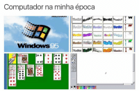 Memes, Windows, and Wordart: Computador na minha época  WordArt NordAn  WordArt WordArt  WoriAri WordArt WordArt mord  Word Art  WortMn WordArt Word Art WordArt WordArt  WordArt Ward  Windows  95  O O 💻
