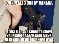Conceal Carry: CONCEALED CARRY CANADA  PLEASE LIKEAND SHARE TO SHOW  YOUR SUPPORT FOR CANADIANS  TO BE ABLETODEFENDTHEMSELVES  mg flip
