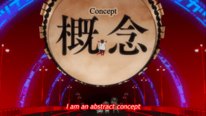 JRPG final bosses be like: Concept  (概念)  I am an abstract concept JRPG final bosses be like