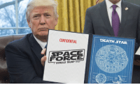 "Star Wars Defense system is possible. Whatever happened to the Ronald Reagan ""Star Wars"" initiative in 1983?: CONFIDENTIAL  DEATH STAR  SPACE  FORCE  DONALD TRUMP Star Wars Defense system is possible. Whatever happened to the Ronald Reagan ""Star Wars"" initiative in 1983?"