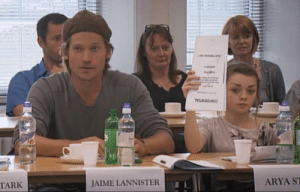 Children, Jaime Lannister, and Arya: CONFIENTIAL  TARK  JAIME LANNISTER  ARYA S Tywin's favorite children