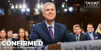 Join me in congratulating Justice Neil Gorsuch on his historic confirmation to the United States Supreme Court!: CONFIRMED  113TH JUSTICE OF THE SUPREME COURT  TRUMP  P E N C E Join me in congratulating Justice Neil Gorsuch on his historic confirmation to the United States Supreme Court!