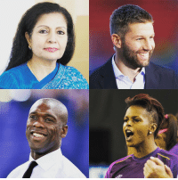 Memes, 🤖, and Thomas: CONFIRMED! Lakshmi Puri, Thomas Hitzlsperger, Karina LeBlanc and Clarence Seedorf will be speaking at the FIFA4Equality Conference on March 6th!