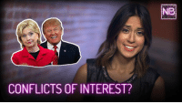 Memes, 🤖, and Federer: CONFLICTS OF INTEREST?  NR Back when President Trump was just a glimmer in a white nationalist's eye, Newsbroke examined the terrifying fact that presidents are exempt from federal conflict of interest laws.