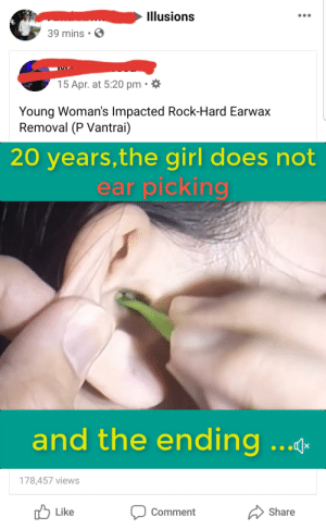 Confucius say: 20 years, the girl does not ear picking and the ending...: Confucius say: 20 years, the girl does not ear picking and the ending...