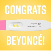 Memes, 🤖, and Ccd: CONGRATS  pregnant CCD  not pregnant D  BEYONCE! Finally some good news.