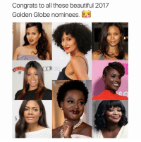 daley: Congrats to all these beautiful 2017  Golden Globe nominees  COM  DALEY