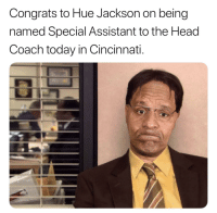 THIS IS AMAZING!! 😂 https://t.co/0H7WKpdxlH: Congrats to Hue Jackson on being  named Special Assistant to the Head  Coach today in Cincinnati. THIS IS AMAZING!! 😂 https://t.co/0H7WKpdxlH