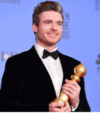 Congrats to Richard Madden who won Best Actor in a TV Series – Drama at the #GoldenGlobes, for his role as David Budd in #Bodyguard! https://t.co/XYhbWCmkhU: Congrats to Richard Madden who won Best Actor in a TV Series – Drama at the #GoldenGlobes, for his role as David Budd in #Bodyguard! https://t.co/XYhbWCmkhU