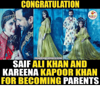 It's a baby boy...: CONGRATULATION  LAG IN3  laughing colours. co m  SAIF ALI KHAN AND  KAREENA  KAPOOR KHAN  FOR BECOMING PARENTS It's a baby boy...