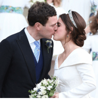 Congratulations to Princess Eugenie and Jack Brooksbank! Tap the link in our bio 👆to find out more about the royal couple who have got married in St George's Chapel in Windsor. The ninth in line to the throne was watched by her grandmother, the Queen, and Prince Philip, William and Kate, Meghan and Harry, along with other members of her family. Celebrities were also among the 850 guests at the ceremony, including @caradelevingne and @robbiewilliams 📸 PHOTO: EPA-Neil Hall RoyalWedding royalfamily uk windsorcastle bbcnews: Congratulations to Princess Eugenie and Jack Brooksbank! Tap the link in our bio 👆to find out more about the royal couple who have got married in St George's Chapel in Windsor. The ninth in line to the throne was watched by her grandmother, the Queen, and Prince Philip, William and Kate, Meghan and Harry, along with other members of her family. Celebrities were also among the 850 guests at the ceremony, including @caradelevingne and @robbiewilliams 📸 PHOTO: EPA-Neil Hall RoyalWedding royalfamily uk windsorcastle bbcnews
