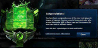Tag your toxic friend who deserves this award: Congratulations!  You have been recognledas one of the mont toxk player  League of Legends You're a  eam destructor who  proove his amazing to fame, race and throw even the  most easy matchs without teason.  for toxic and feeder.  Even the bott reported you  Close Tag your toxic friend who deserves this award
