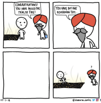 """Fire, Congratulations, and Http: CONGRATULATIONS!  YOU HAVE PASSED THE  TRIAL BY FIRE  YOU HAVE BUT ONE  REMAINING TEST  L7-1-19  @SİNEWYN-COMies y  t <p>Endless possibilities with the third panel. Buy now via /r/MemeEconomy <a href=""""http://ift.tt/2H60xva"""">http://ift.tt/2H60xva</a></p>"""