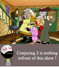 Memes, 🤖, and Conjuring: Conjuring 2 is nothing  infront of this show