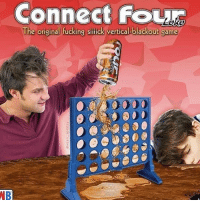 Fucking, Memes, and Game: Connect fOL  The original fucking sillick vertical-blackout game  9888893  NB I remember I used to slug them in 4th grade
