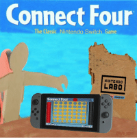 Nintendo: Connect Four  The Classic Nintendo Switch Game  NINTENDO  LABO  DISCOVER  Connect Four