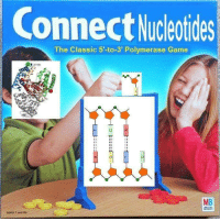 Game, Connect, and Classic: Connect Nucleotides  The Classic 5'-to-3' Polymerase Game  MB