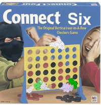 Game, Irish Republican, and Checkers: Connect Six  The Original Vertical Four-In-A-Row  Checkers Game  MB