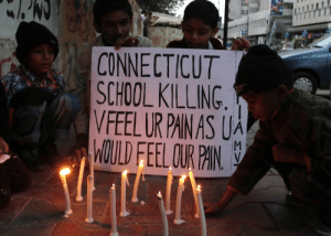 naturalise:  painiswarning:  Pakistani children light candles to pay tribute to Sandy Hook Elementary School shooting victims in southern Pakistani port city of Karachi on Dec. 15, 2012. This will never be on the news. But how awesome of this picture to see some light.  beautiful : CONNECTICUT  SCHOOL KILLING.  VFEEL UR PAIN AS UA  WOULD FEEL OUR PAIN. naturalise:  painiswarning:  Pakistani children light candles to pay tribute to Sandy Hook Elementary School shooting victims in southern Pakistani port city of Karachi on Dec. 15, 2012. This will never be on the news. But how awesome of this picture to see some light.  beautiful