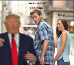 Jesus, Conservative, and Christians: Conservative  Christians  Jesus