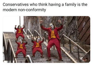 """""""Being a father is punk rock"""": Conservatives who think having a family is the  modern non-conformity """"Being a father is punk rock"""""""