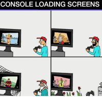 Memes, 🤖, and Loaded: CONSOLE LOADING SCREENS