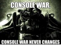 <p>After Seeing Everything About the Xbox One and Playstation 4</p>: CONSOLE WAR  CONSOLE WAR NEVER CHANGES <p>After Seeing Everything About the Xbox One and Playstation 4</p>